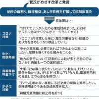 これが安倍・菅官邸の実力だ。100万人当たりのコロナによる死者は日本13人、韓国9人、中国3人、台湾0・3人。4~6月期GDPは日本ー9・9%、中国+3・2%、韓国ー3・0%、台湾ー0・6%。