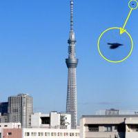 今朝の東京スカイツリー(2020/2/27)