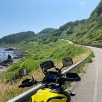 能登半島にバイクツーリング