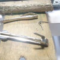ネクタイピン 修理 変形直し バネ交換