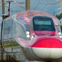 新幹線こまちとローカル線と