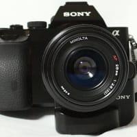 小さくて軽い広角レンズ Minolta AF28mm F2.8