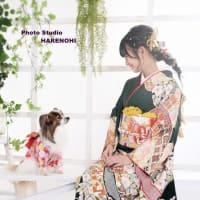 9/27 成人式撮影・ペットと一緒に♫ 札幌写真館ハレノヒ