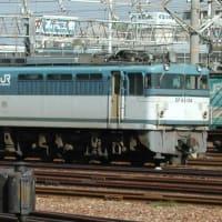 EF65-104 【笠寺駅:東海道線】 2001.10.31 過去帳より