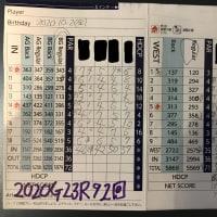 今日のゴルフ挑戦記(325)/東名厚木CC イン(B)→ウエスト