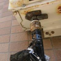 千葉県市川市 ノーリツ給湯器 GQ-16号 水漏れ 交換