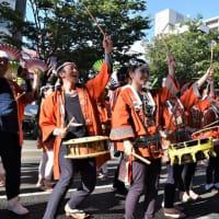 ▼夏すずめ2019(7)路上演舞-桜ステージ