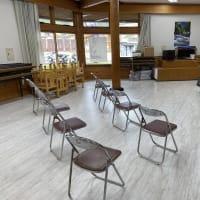 道の駅花街道つけち内の研修室にてアコースティックライブ🎸開催中‼️