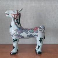古伊万里様式の色絵馬