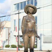 善本秀作「石狩の夏」 旭川の野外彫刻(30)