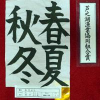 1263芦ノ湖夏まつりウイーク書道展