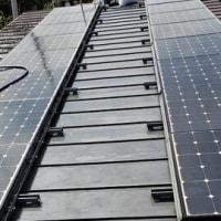 北島町の家、太陽光発電鳩対策