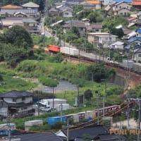 山陽本線は瀬野駅付近の風景 (2019年9月 秋の在庫シリーズ)