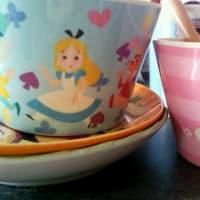 アリスのカップセット@ディズニーストア