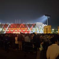 東大阪花園ラグビー場パブリックビューイング 早くも入場規制