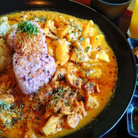 【福田町】3 flavor curry