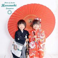 1/7 七五三 Cuteな双子ちゃん撮影♫ 札幌写真館フォトスタジオハレノヒ