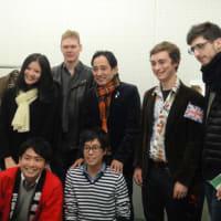 【慶応留学一年間】「多忙」の秋 その2 ルー大柴さんとトゥゲザーの対談