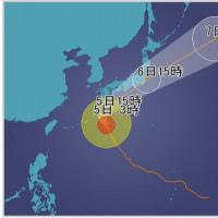 台風18号 今年最強クラス 週明け通勤に大打撃も 御嶽山・麓の玉滝村に避難勧告