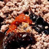 山ごはん研究会著の麺レシピ集「山で麺!」の肉味噌あえ麺を真似てみる@鎌倉七里ガ浜自宅厨房