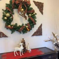 カフェ「ヴィランダ」・・・クリスマス飾り