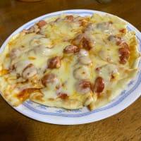 久しぶりにピザを焼く