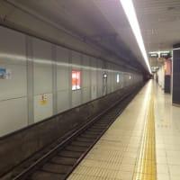 東京の電車。