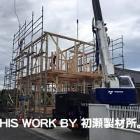 K様邸増築工事(いわき市内郷) ~建て方~