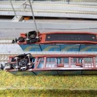 TOMIXのコキ50000系コンテナ列車12両