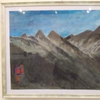 2019年第42回神奈美公募展;出品作品(1);北アルプス展望(1)