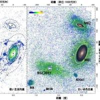 """【国立天文台】 過去記事 ; 8月24日22:45分、""""""""超広視野主焦点カメラ HSC で挑む M81 銀河考古学"""""""""""