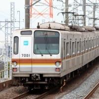 東京メトロ7000系最後の10両編成を追って東上線