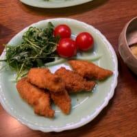 ルッコラのチーズ&柑橘サラダ、食卓の主役に(笑)