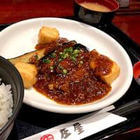 【日替定食】麻婆茄子豆腐を頂きました。 at ニユートーキヨー庄屋 新青山ビル店