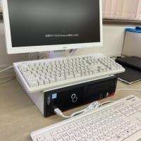 名古屋へパソコンの納品(OASYSV10利用の親指シフトキーボードユーザ対応)