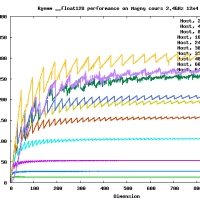 Rgemm __float128 on AMD Opteron Magny-Cours 2.4GHz 48 cores