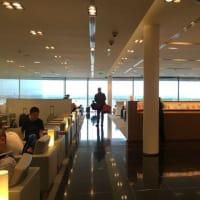 シャルル・ド・ゴール空港*キャセイパシフィック航空ファースト&ビジネスクラスラウンジ