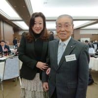 区議会の恩師、上野定雄先生と