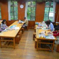 10月四回目の教室 コシオガマふたたび咲く