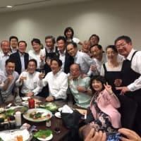 これでいいのか森田健作・千葉県知事 台風の最中に都内で乾杯