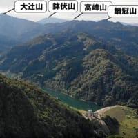 富山の山 上市町の笠尻山!剱岳が綺麗 中山の序でに登っても良いかも!!
