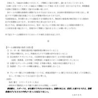 チーム活動に関する県協会の指針