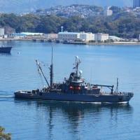 出航~修理救難艦「サルヴォア」