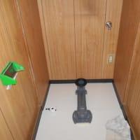 トイレの床張替でリモデル便器を取り付け・・・千葉市