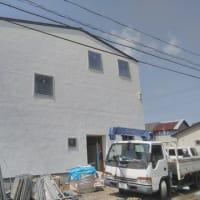 南矢三町の家、足場解体