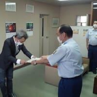 人命救助に貢献された方に箕面市消防長表彰!