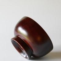 仁城逸景 椀 5寸×2.8寸 栗材