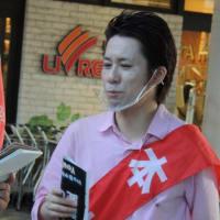 河合ゆうすけさん!6月17日青砥でファンとの会話の様子をお届けです!