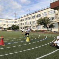 足立区立寺地小学校でリングビーの出張授業 その1