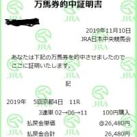 競馬 エリザベス女王杯予想(2019)